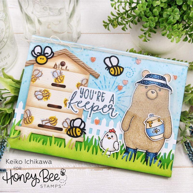 Keiko Ichikkawa for Honey Bee Stamps