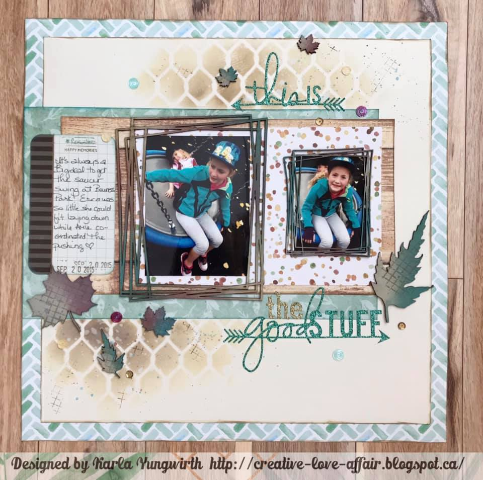 Layout by Karla Yungwirth