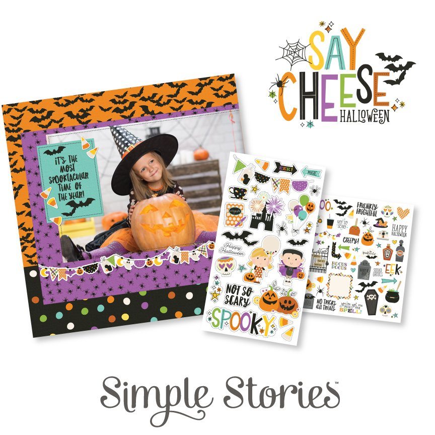 Simple Stories Say Cheese Halloween Q2MidCollectionPrize1