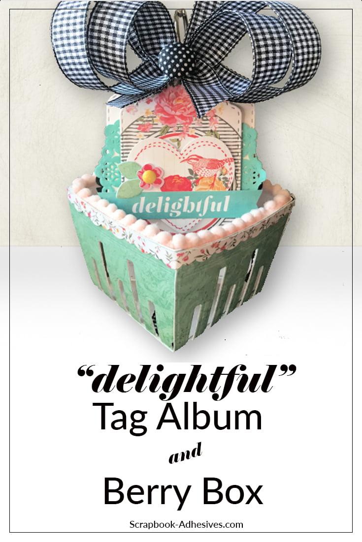 Tag Album Berry Box Pinterest-2