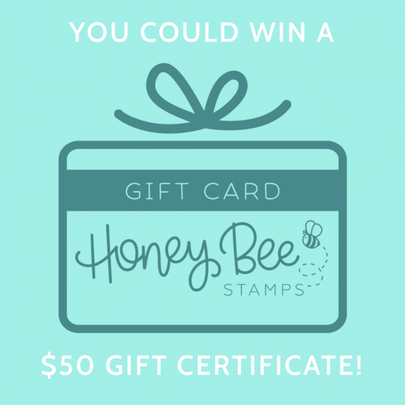 Honey Bee Stamps gift certificate - 50