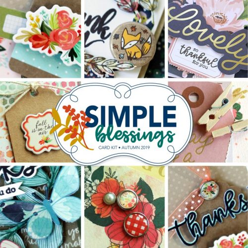 SCT Delivered Simple Blessings card kit