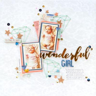 1-NATHALIE DESOUSA for SCRAPBOOK & CARDS TODAY MAGAZINE_WONDERFUL GIRL
