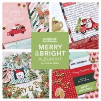 SCT Delivered Online Kit - Merry & Bright Album Kit