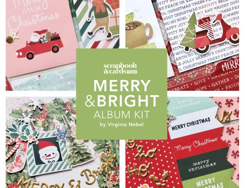 Merry & Bright album kit giveaway!