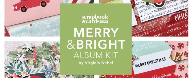 SCT Delivered Online Kit - Merry & Bright Album Kit
