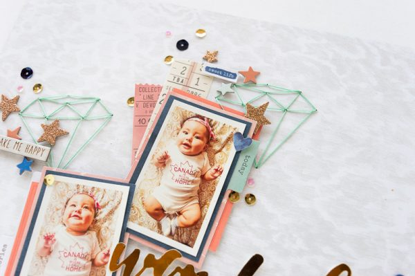 Wonderful Girl by Nathalie DeSousa for Scrapbook & Cards Today