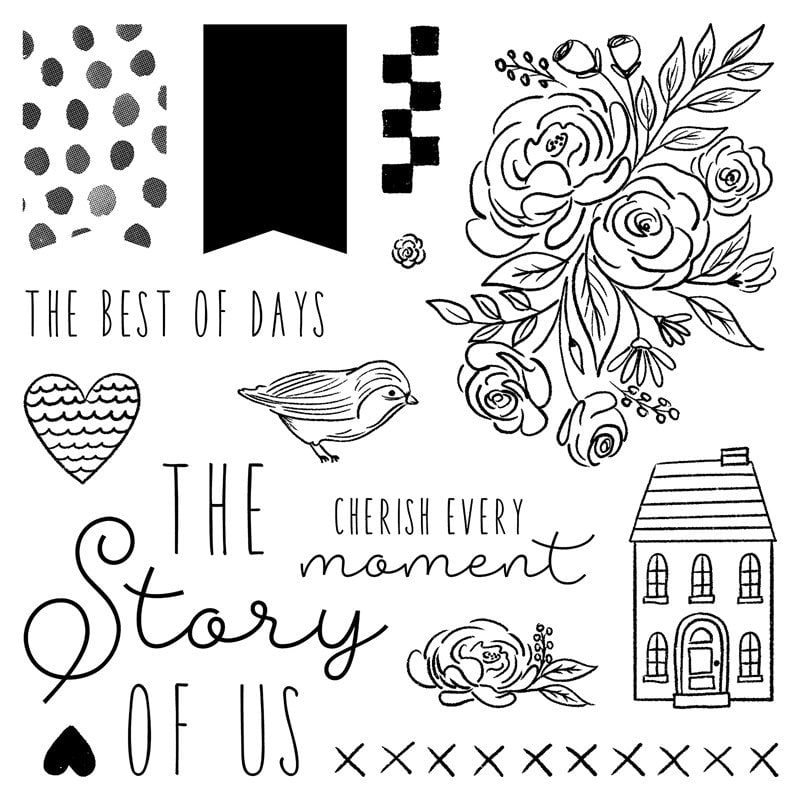 CTMH Every Little Thing stamp set