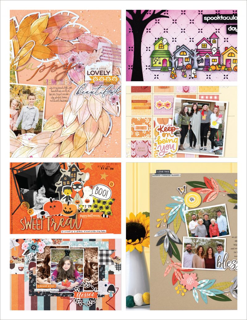 Scrapbook & Cards Today - Fall 2019 - Issue Collage