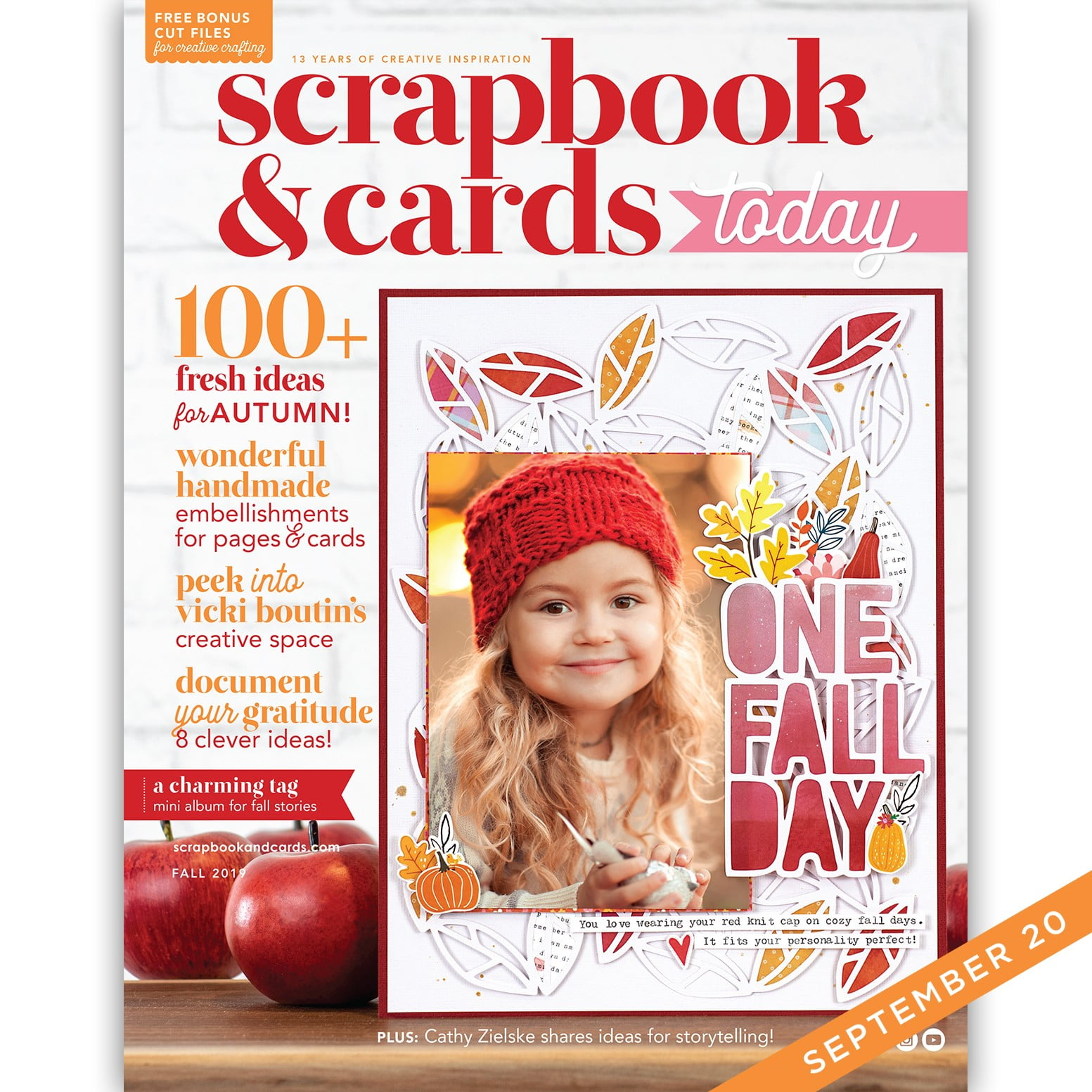 Scrapbook & Cards Today - Fall 2019 Issue
