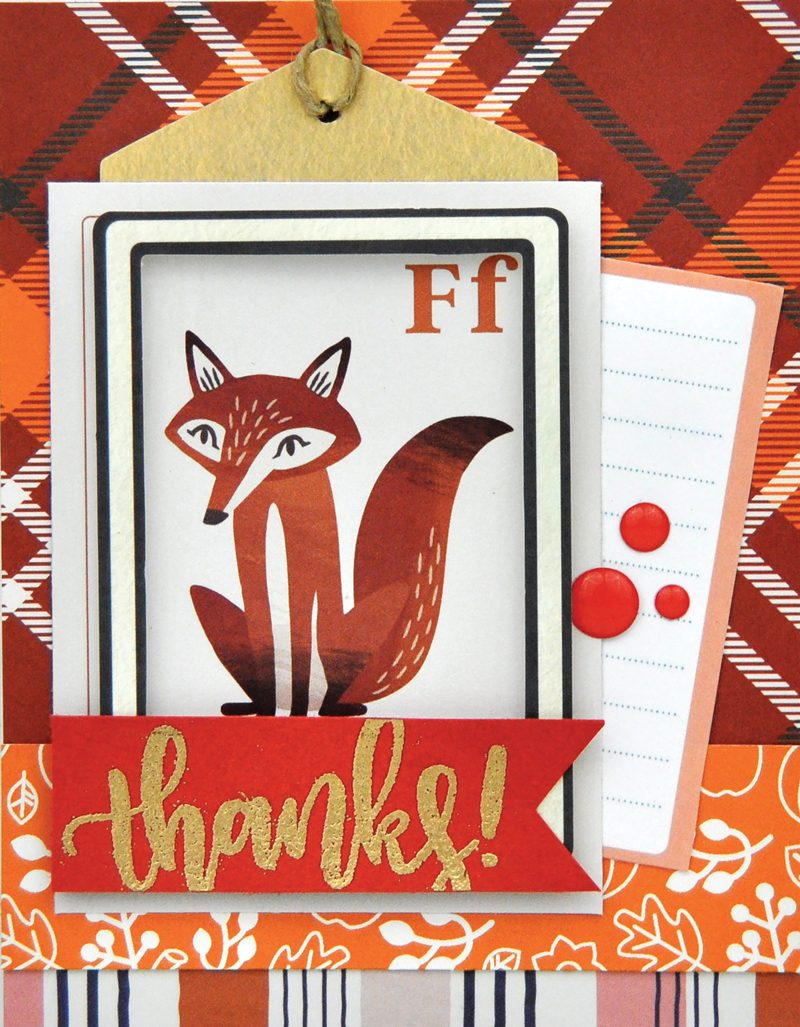 SCT Delivered Kit - Fall 2019 - Woodland Grove - Card by Jen Gallacher
