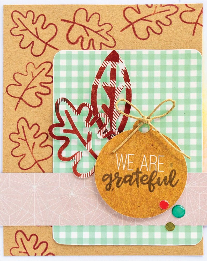 SCT Delivered Kit - Fall 2019 - Woodland Grove - Card by Nathalie DeSousa