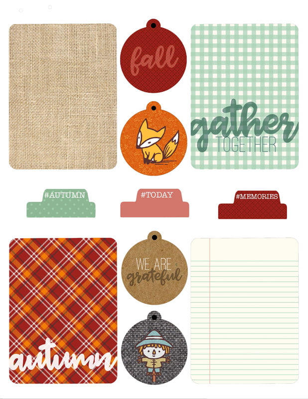 SCT Delivered Kit - Fall 2019 - Woodland Grove - Printables