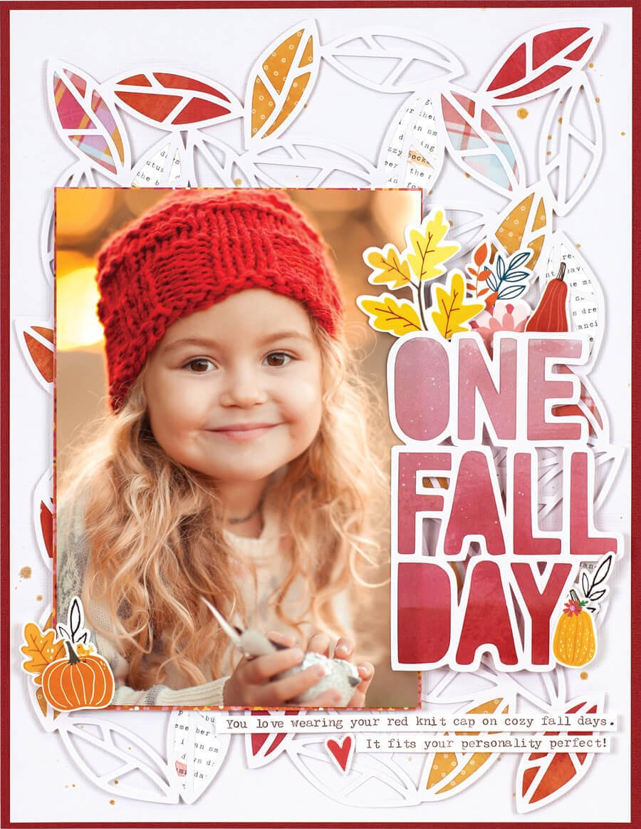 SCT Fall 2019 - One Fall Day layout by Erica Thompson