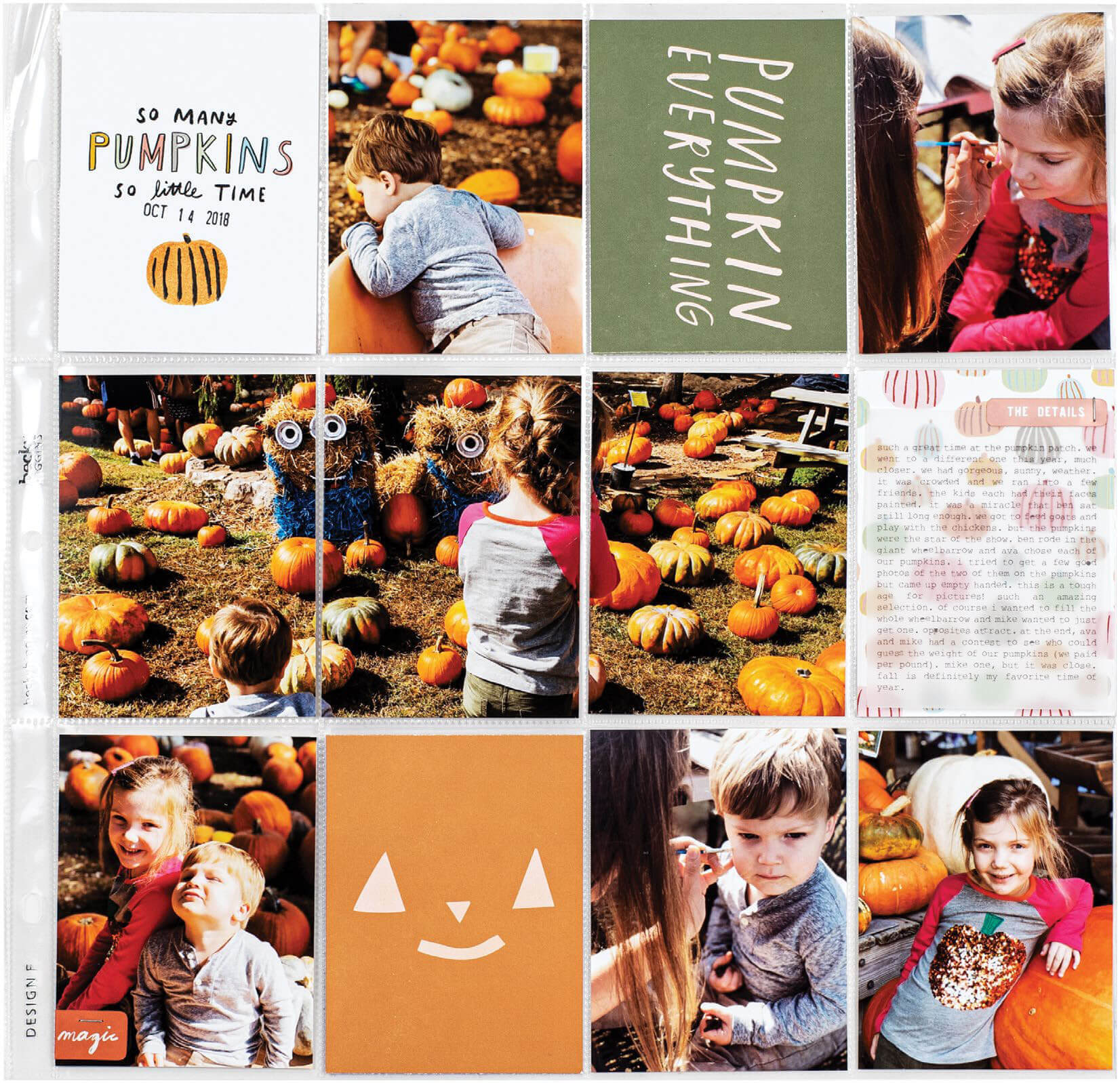 SCT Fall 2019 - So Many Pumpkins by Lisa Williams Varshine