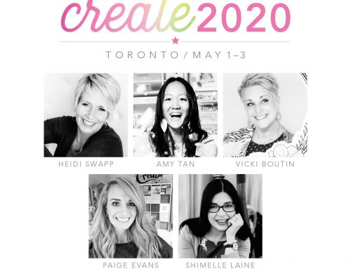 GIVEAWAY from Your Next Stamp and Create 2020 announcement!