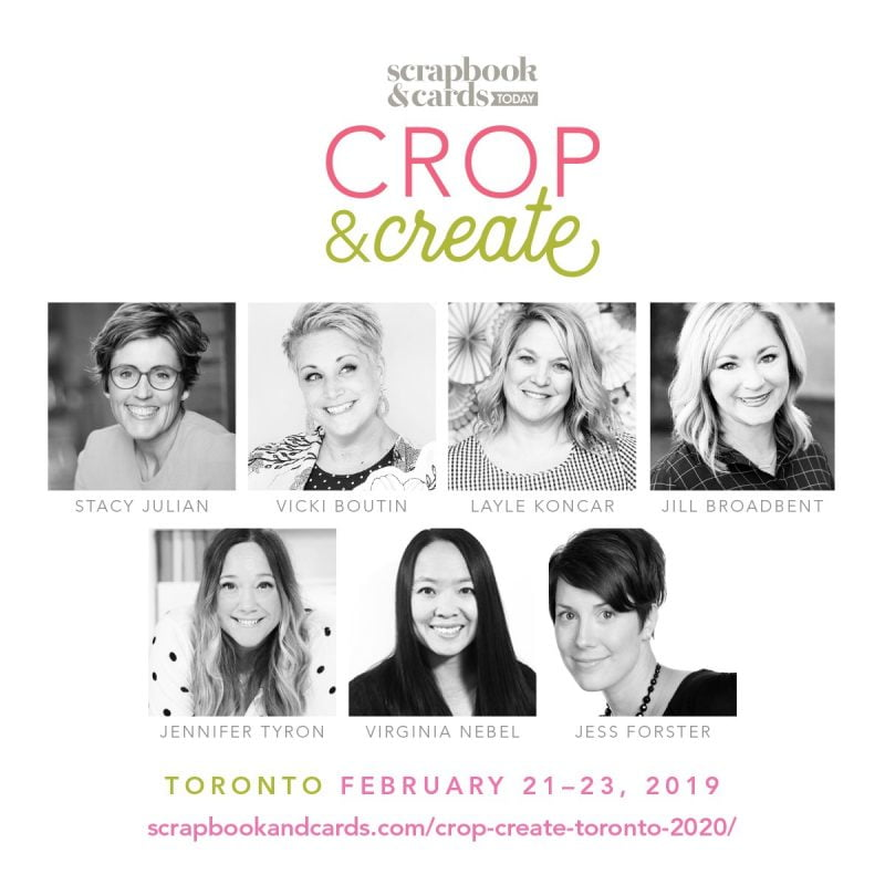 Crop & Create Toronto 2020 Instructors