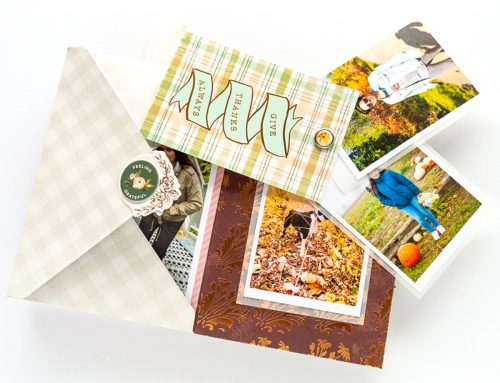Thanksgiving Envelope Mini Album with Nathalie DeSousa!