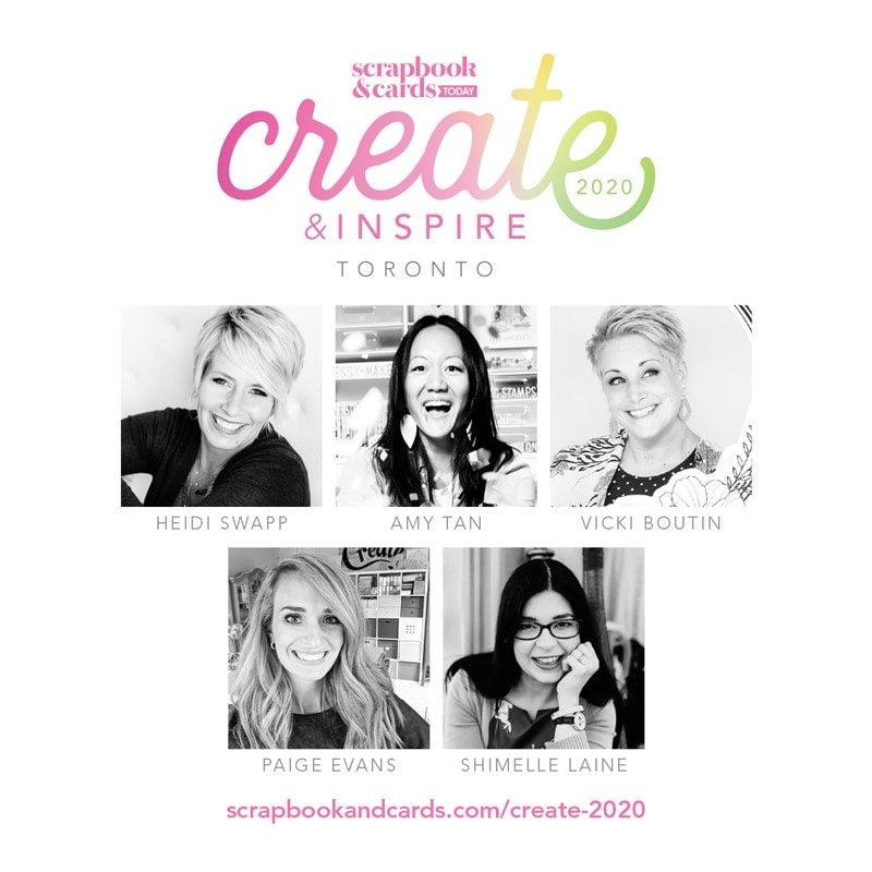 Create & Inspire Toronto 2020
