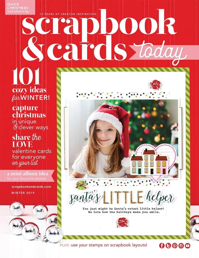 Scrapbook & Cards Today - Winter 2019 issue