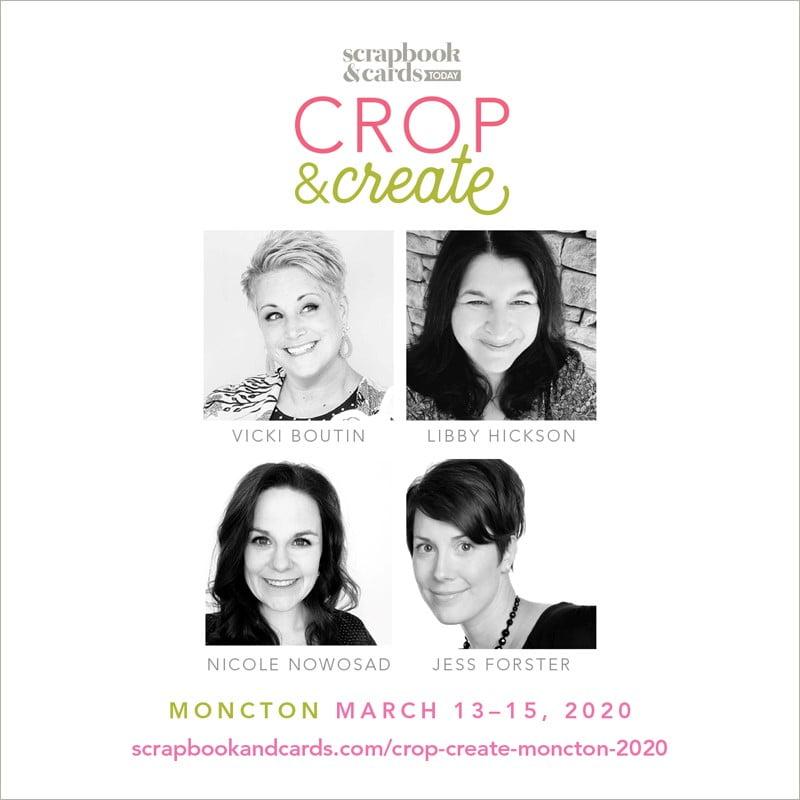 Crop & Create 2020 Moncton Instructors