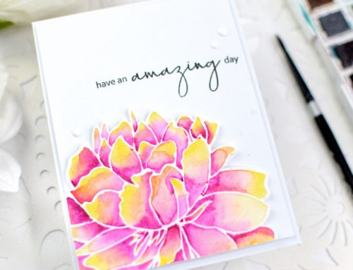 Ashlea Cornell + watercolor techniques = perfection!