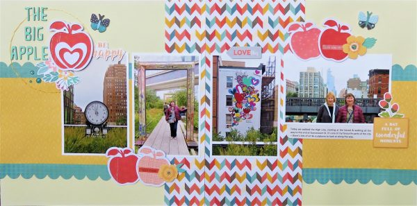 November Layout by Kerrie Tuni