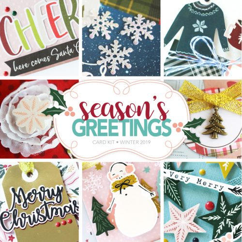 SCT Delivered Card Kit - Season's Greetings