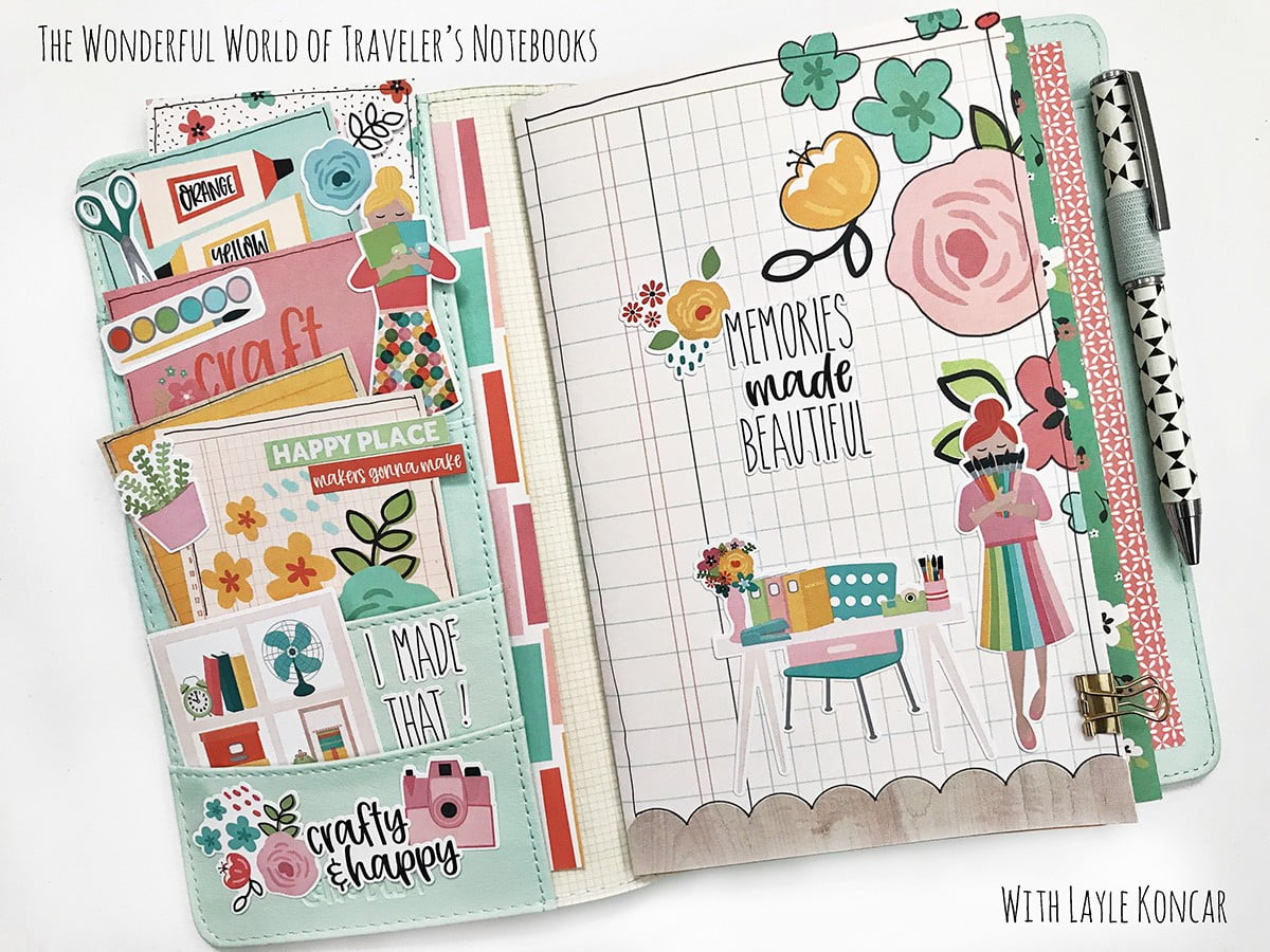 The Wonderful World of Traveler's Notebooks with Layle Koncar