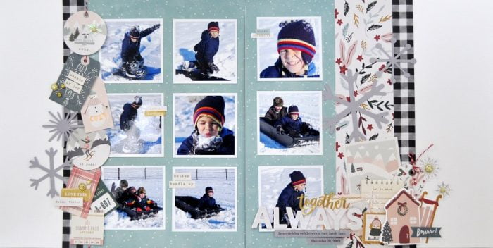 Together Always Layout by Jen Gallacher