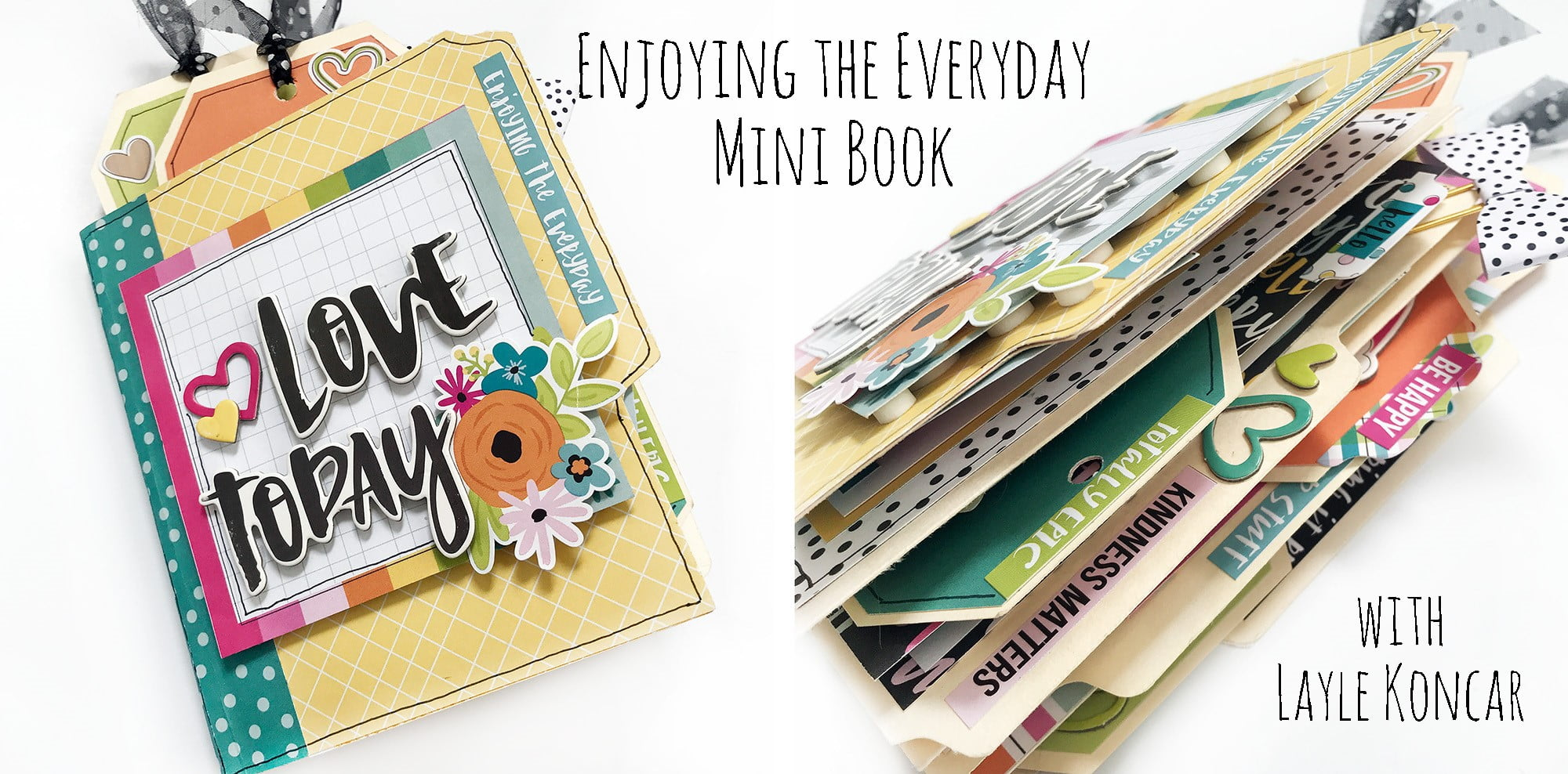 Enjoying the Everyday – File Folder Mini Book with Layle Koncar