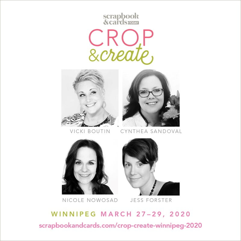 Crop & Create - Winnipeg 2020 Instructors