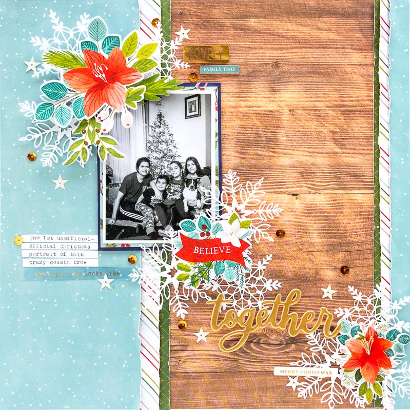 1- NATHALIE DESOUSA for SCRAPBOOK & CARDS TODAY MAGAZINE_TOGETHER_PINK PAISLEE-2