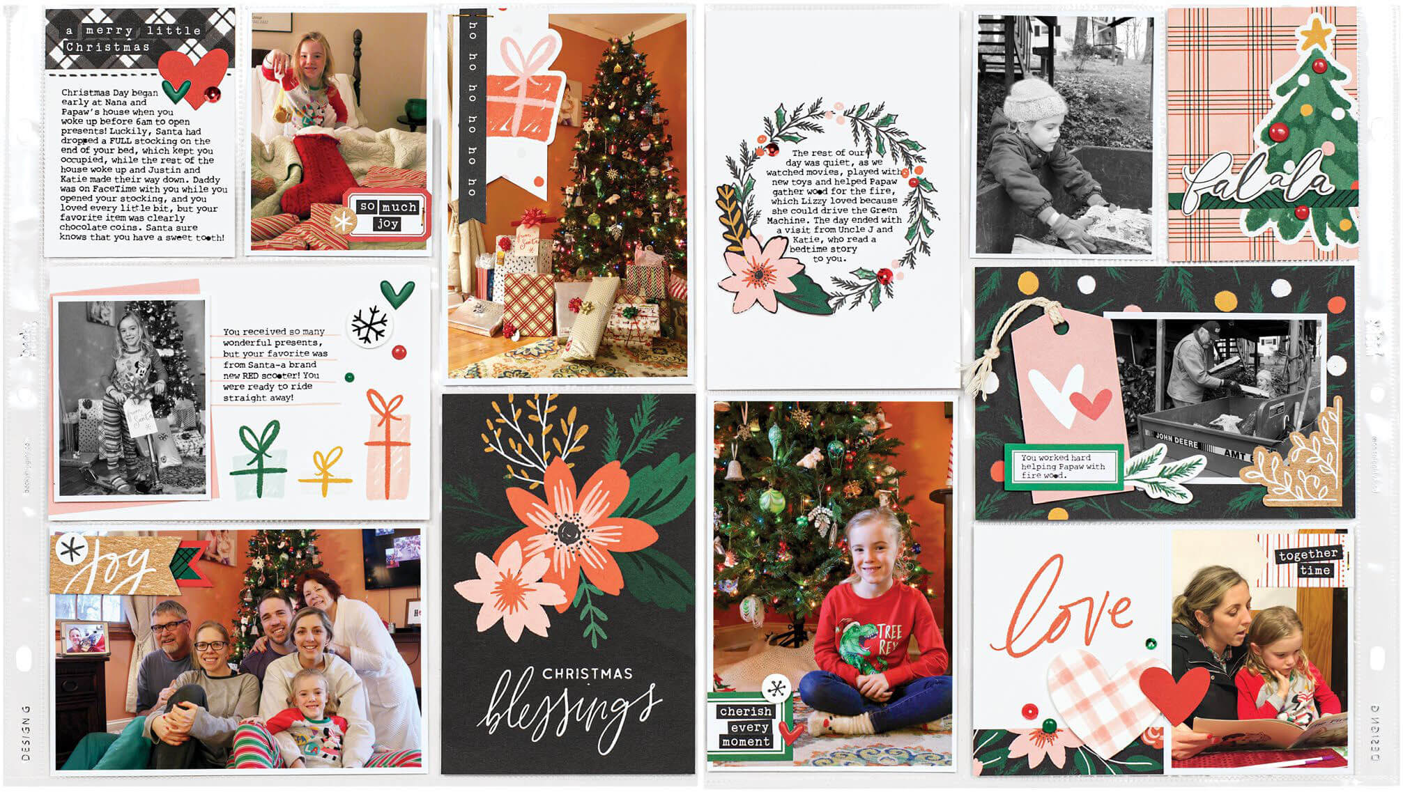 Scrapbook & Cards Today - Winter 2019 - Christmas Blessings by Meghann Andrew