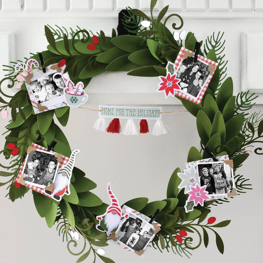 Scrapbook & Cards Today - Winter 2019 - Home for the Holidays by Wendy Sue Anderson