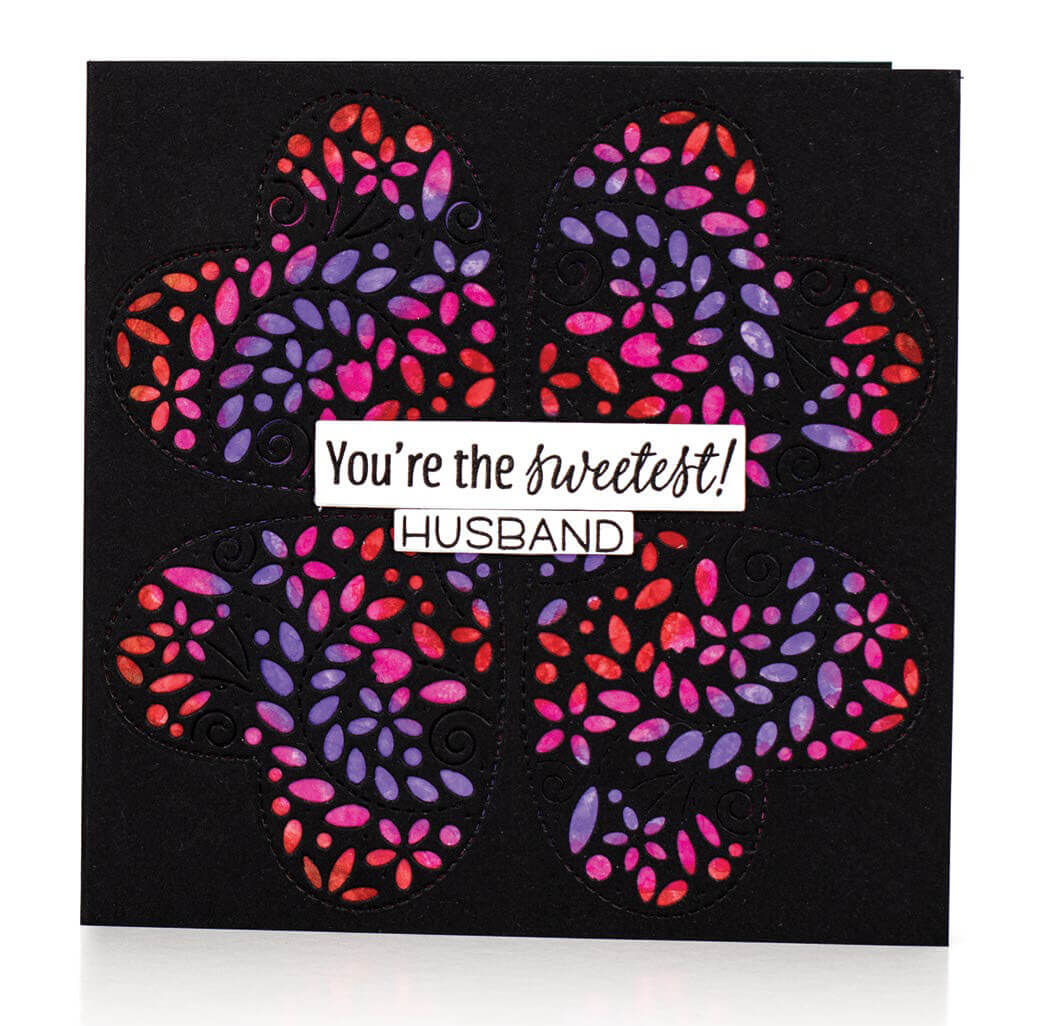 Scrapbook & Cards Today - Winter 2019 - You're The Sweetest card by Michelle Peckham