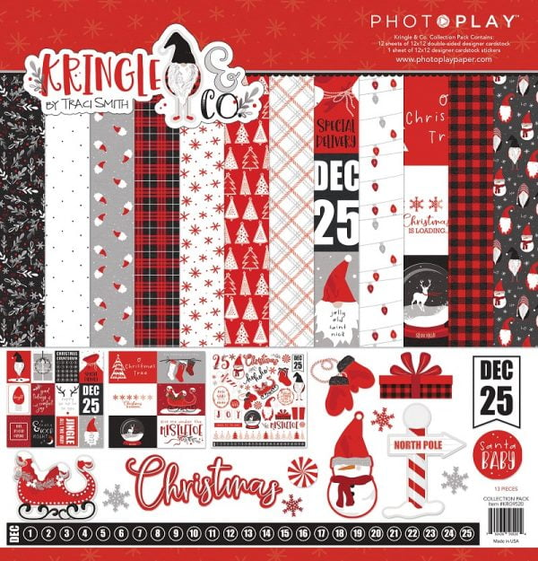 Photo Play Paper - Kringle & Co