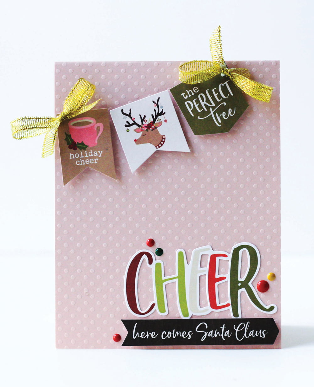 SCT Delivered Kits - Season's Greetings Card Kit - Card by Latisha Yoast
