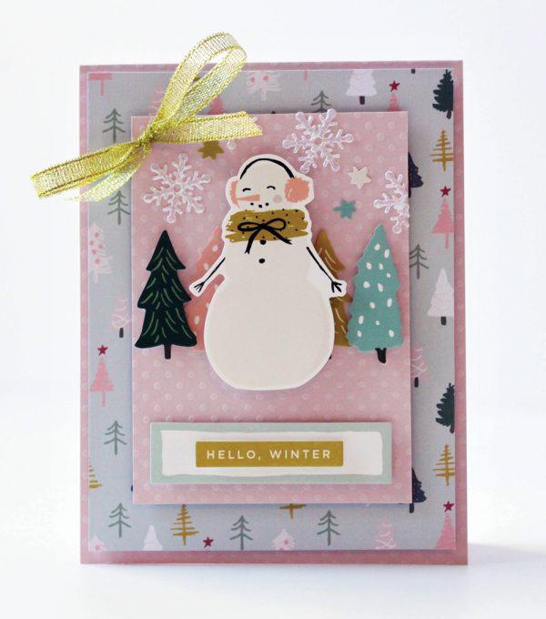 SCT Delivered Kits - Season's Greetings Card Kit - Card by Latisha Yoast