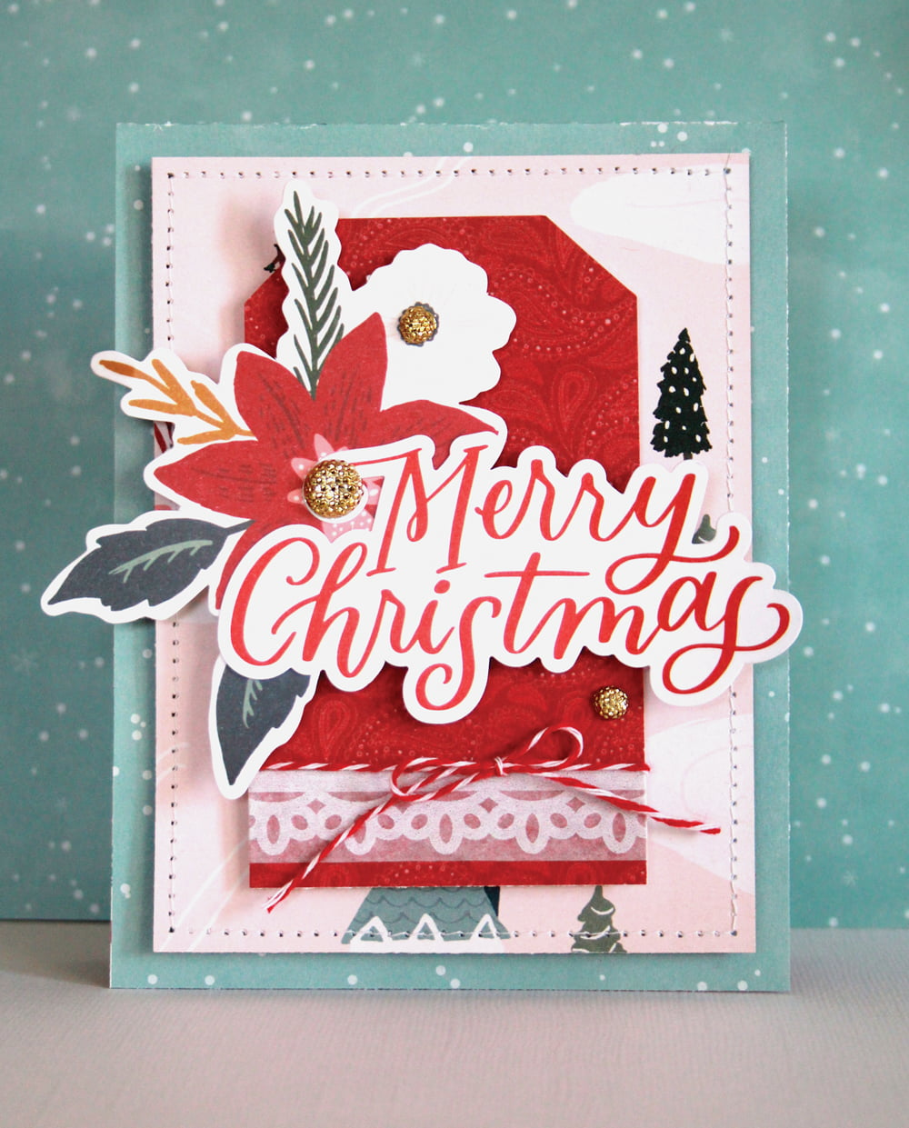 SCT Delivered Kit - Winter 2019 - Let It Snow - Card by Lisa Dickinson