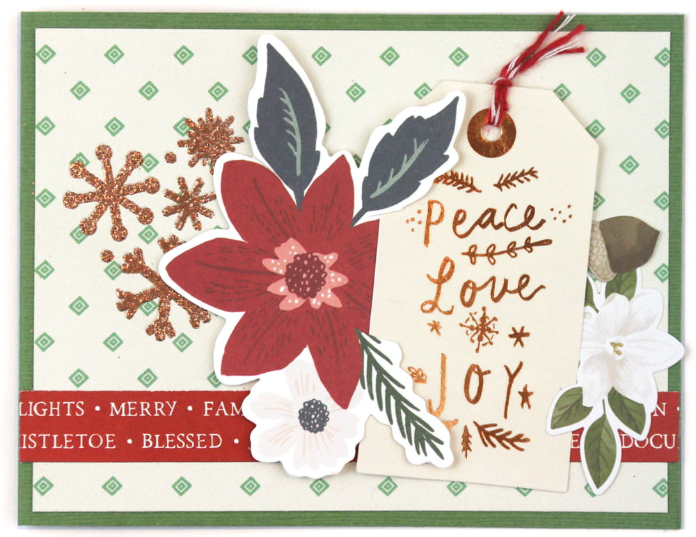 SCT Delivered Kit - Winter 2019 - Let It Snow - Card by Meghann Andrew
