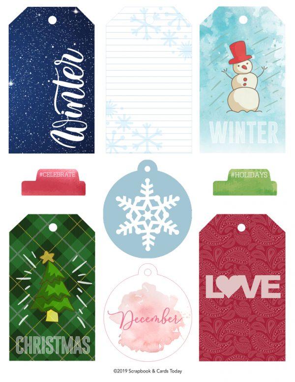 SCT Delivered Kits - Let It Snow Printables