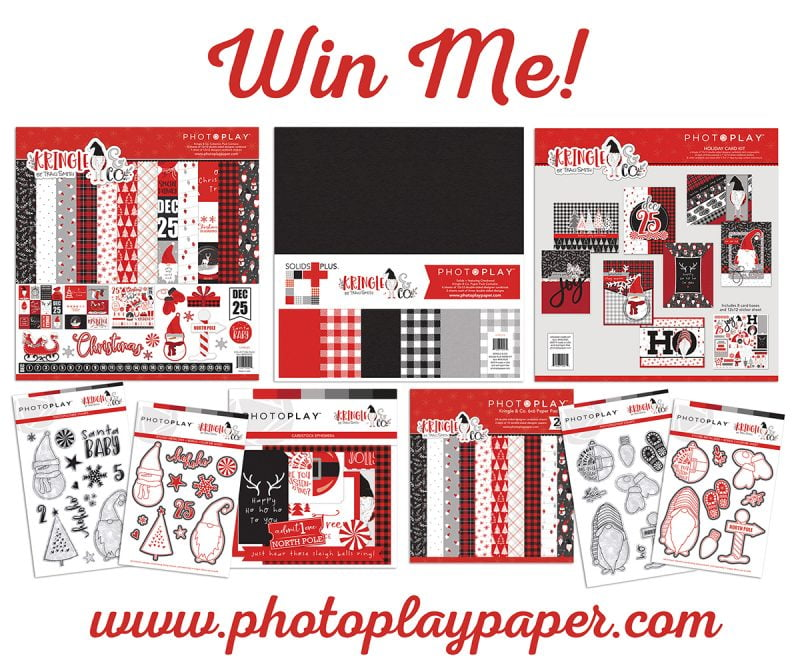 Photo Play Paper - Kringle & Co - Win Me
