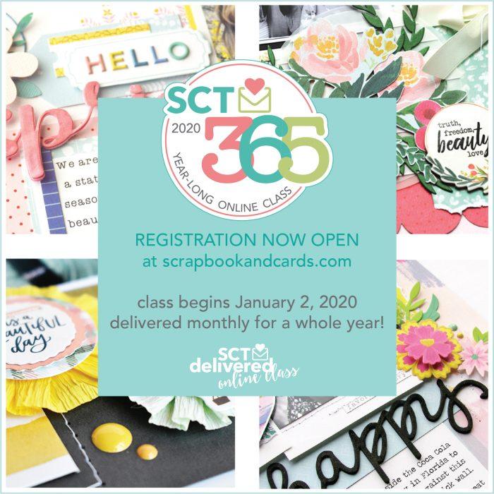 SCT365 2020 Online Class Registration