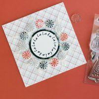 Fa La La card - Photo Play Paper - Kringle & Co