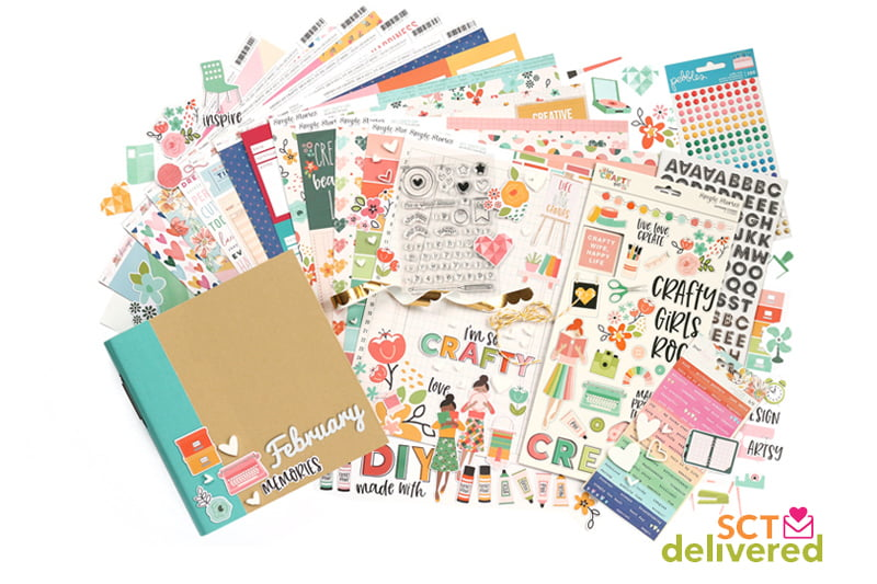 SCT Delivered - February Favourites Album Kit