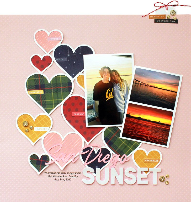 SCT-Magazine-Let-it-Snow-Scrapbook-Kit-Lisa-Dickinson-San-Diego-Sunset-01