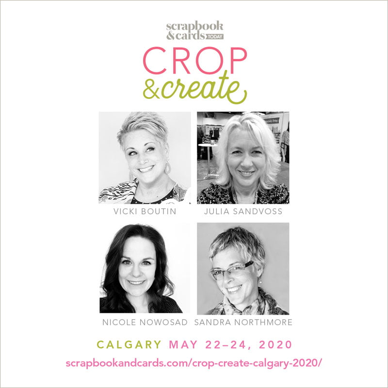 Crop & Create - Calgary 2020 Instructors