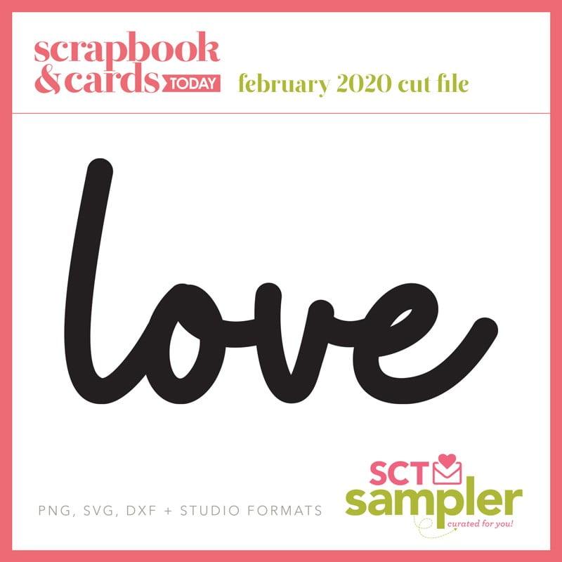 SCT Sampler - February 2020 Cut File