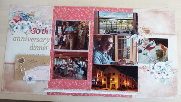 February Layout by Beth Anne Thomas